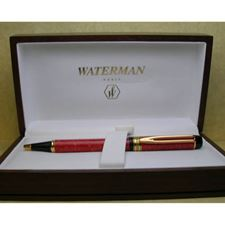 Picture of Waterman Man 100 Patrician Red Ballpoint Pen