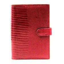 Picture of Filofax Pocket Lizard Red Organizer