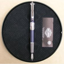 Picture of Waterman Harley Davidson Combustion Metallic Black Fountain Pen