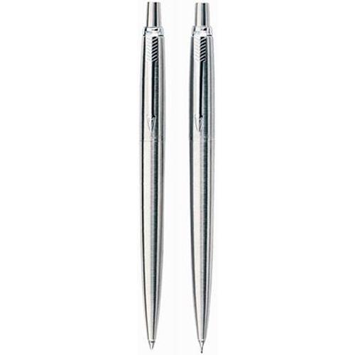 Parker Jotter Stainless Steel Chrome Trim Ballpoint Pen