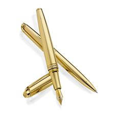 Picture of Caran dAche Jewellery Leman 18kt Yellow Gold Rollerball Pen