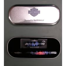 Picture of Waterman Harley Davidson Free Wheel Flags Fountain Pen