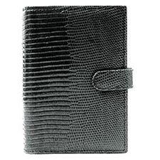 Picture of Filofax Pocket Lizard Black Organizer