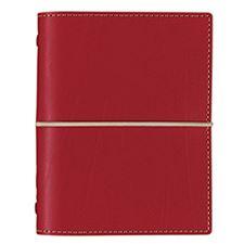 Picture of Filofax Pocket Domino Red Organizer