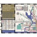 Picture of Filofax Personal NY, NJ, CT Transit Map