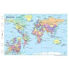 Picture of Filofax Pocket World Map