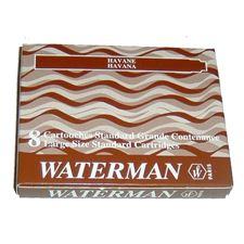 Picture of Waterman Fountain Pen Cartridges Brown (8 Per Box)