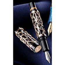 Picture of Delta 25th Anniversary Limited Edition Celebration Black Fountain Pen Fine Nib