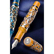 Picture of Delta 25th Anniversary Limited Edition Celebration Orange Fountain Pen Fine Nib