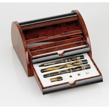 Picture of Visconti Limited Edition Ragtime 20th Anniversary 3 Piece Set with  Rolltop Nautalis Desk Set