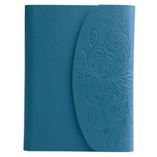 Picture of Eccolo World Traveler Metallic Flap Journal Blue