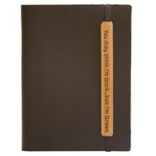 Picture of Eccolo Writing Green Terra Journal Black