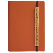 Picture of Eccolo Writing Green Terra Journal Orange