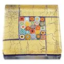 Picture of Eccolo Murano Glass Paperweight Millefiori Square