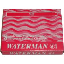 Picture of Waterman Fountain Pen Cartridges Pink (8 Per Box)