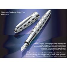 Picture of Laban Diamond Checkered Board Fountain Pen Medium Nib