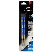 Picture of Parker Gel Refills Blue Medium Point (2 Per Card)