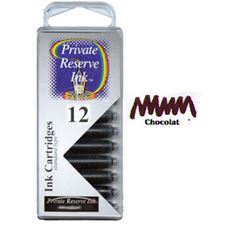 Picture of Private Reserve Ink Cartridge Chocolat 12 Pack