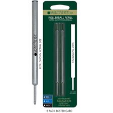 Picture of Monteverde Rollerball Refill to Fit Cross Rollerball Pens Fine Blue-Black Pack of 4