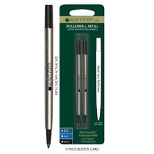 Picture of Monteverde Rollerball Refill to Fit Parker Rollerball Pens Fine Blue-Black Pack of 4