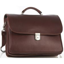 Picture of Aston Leather Executive Briefcase with Front Lock for Women