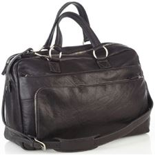 Picture of Aston Leather Carry On Shoulder Bag