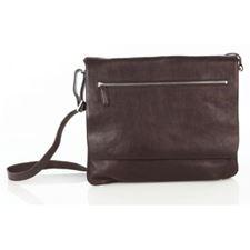 Picture of Aston Leather Slim Shoulder Bag