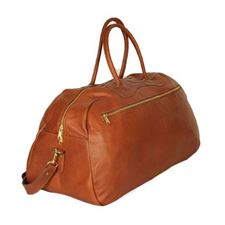 Picture of Aston Leather Ballistic Gym Tan Bag
