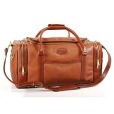 Picture of Aston Leather Duffle Bag