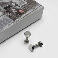 Picture of Guiliano Mazzuoli Officina Nut and Bolt Cuff Links