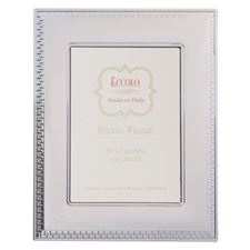 Picture of Eccolo Sterling Silver Frame Greek Key 4 x 6