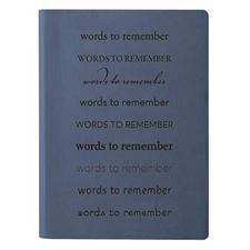 Picture of Eccolo Essential Collection Words to Remember Journal (Pack of 4)
