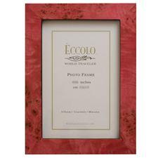 Picture of Eccolo Burl Frame Fuschia 4 X 6 (Pack of 4)