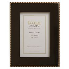 Picture of Eccolo Burl Frame Black Inlay 4 X 6 (Pack of 4)