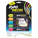 Picture of Expo Dry Erase Marker Neon Bullet Pack of 5 Assorted