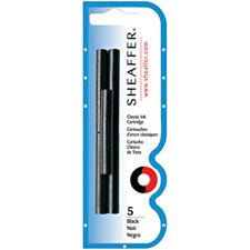 Picture of Sheaffer Fountain Pen Cartridges Black 5 Pack