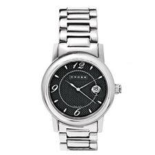 Picture of Cross Mens Satin Finish Stainless Steel Link Bracelet