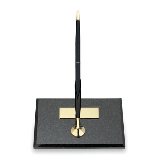 Swell Cross Single Desk Set Black Marble Base With Classic Black Ballpoint Pen Interior Design Ideas Helimdqseriescom