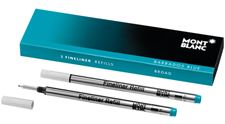 Picture of Montblanc Barbados Blue Fineliner Refills 2 Per Pack