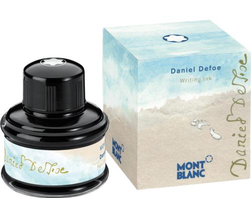 montblanc fountain pen ink bottle daniel defoe palm green 35ml
