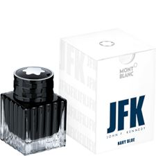 Picture of Montblanc Fountain Pen Ink Bottle JFK Navy Blue 35ml
