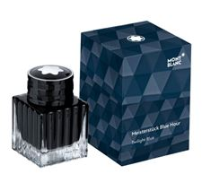 Picture of Montblanc Fountain Pen Ink Bottle Meisterstuck Blue Hour Twilight Blue 30ml