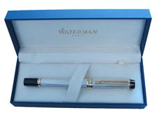 Picture of Waterman Le Man 100 Sterling Silver Fountain Pen Medium Nib