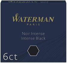 Picture of Waterman Pen International Cartridges Intense Black